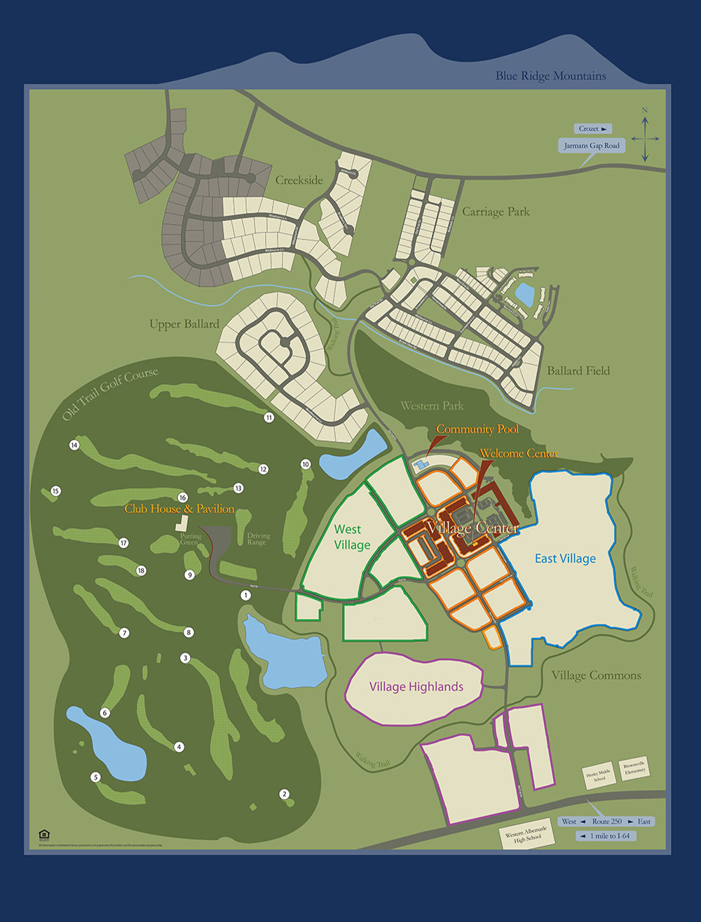 Old Trail Development Site Plan