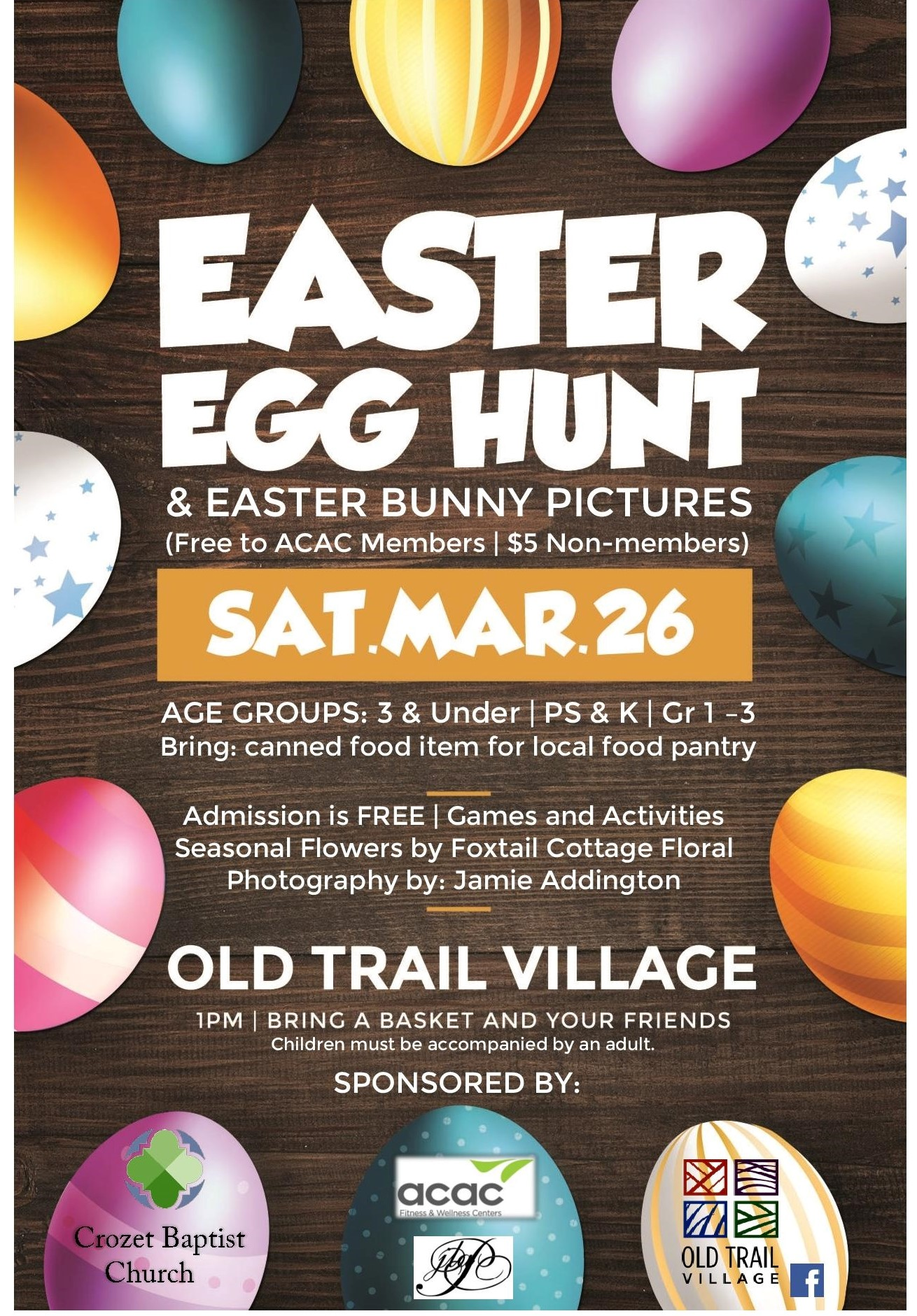 Easter Egg Hunt Flyer-(Full Page view)